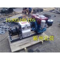 原装进口电力施工牵引雅马哈轴传动绞磨机电缆牵引机