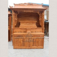 191双龙屋顶佛龛套柜 北京佛龛厂家生产定做佛龛 佛堂设计 寺庙修缮