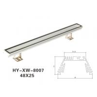 佛山洗墙灯外壳生产厂家,外置电源洗墙灯外壳零售,AL6063型材铝外壳