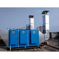 化工厂废气处理环保设备,光氧催化废气处理设备价格,环评过关